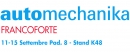 AUTOMECHANIKA FRANCOFORTE: Meeting place for the automotive sector