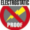 Anti electrostatic current device