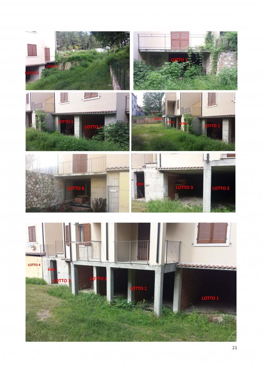 Garage a CASTIGLIONE D'ORCIA in loc. Paltrinieri - Lotto 3
