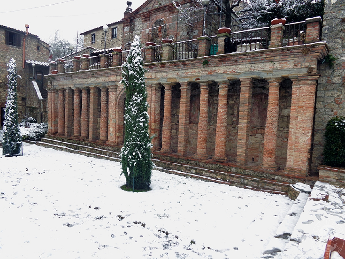 Parte di edificio storico a SARTEANO in Via dei Lecci 31
