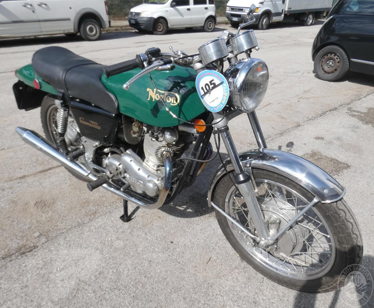 Motociclo Norton Commando 750 anno 1971   GARA DI VENDITA SABATO 7 DICEMBRE 2019 0