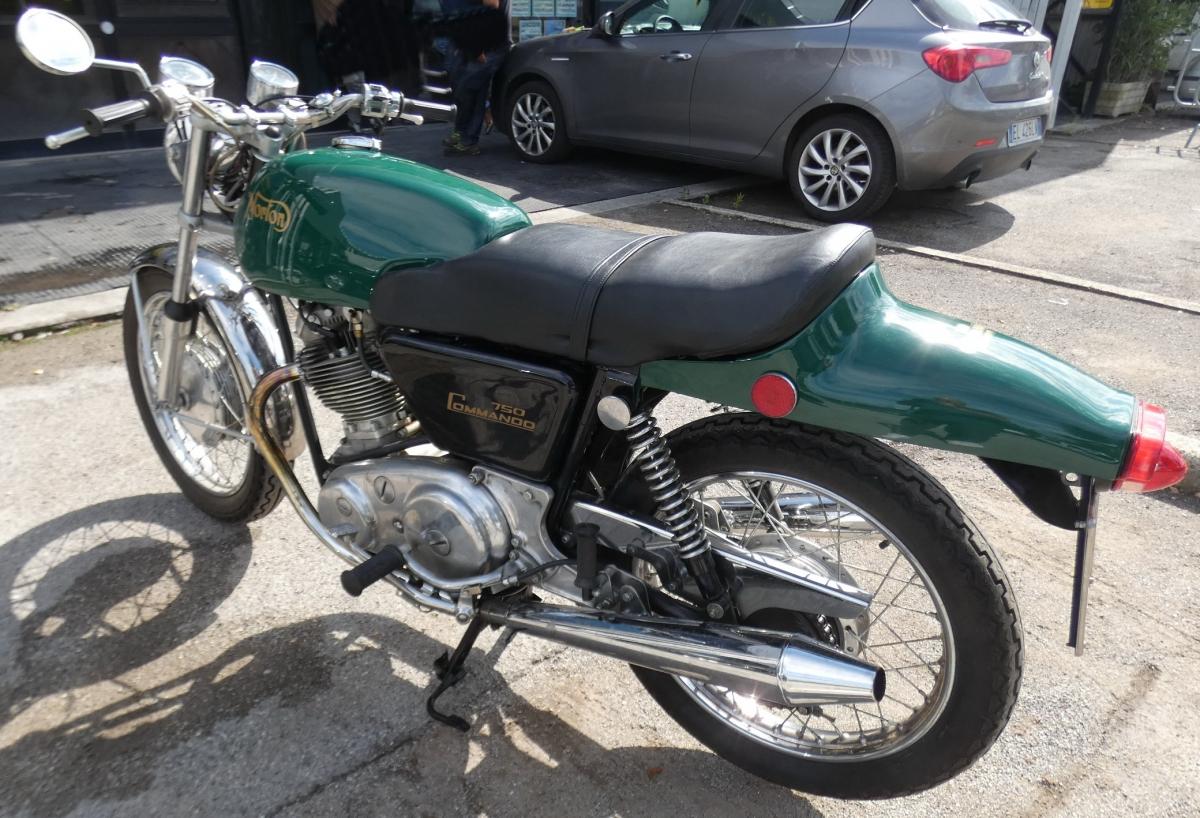 Motociclo Norton Commando 750 anno 1971   GARA DI VENDITA SABATO 7 DICEMBRE 2019 8