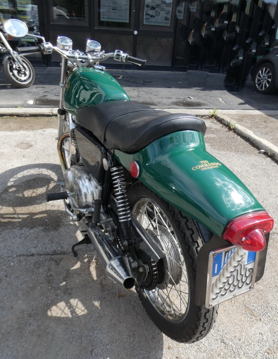 Motociclo Norton Commando 750 anno 1971   GARA DI VENDITA SABATO 7 DICEMBRE 2019 9