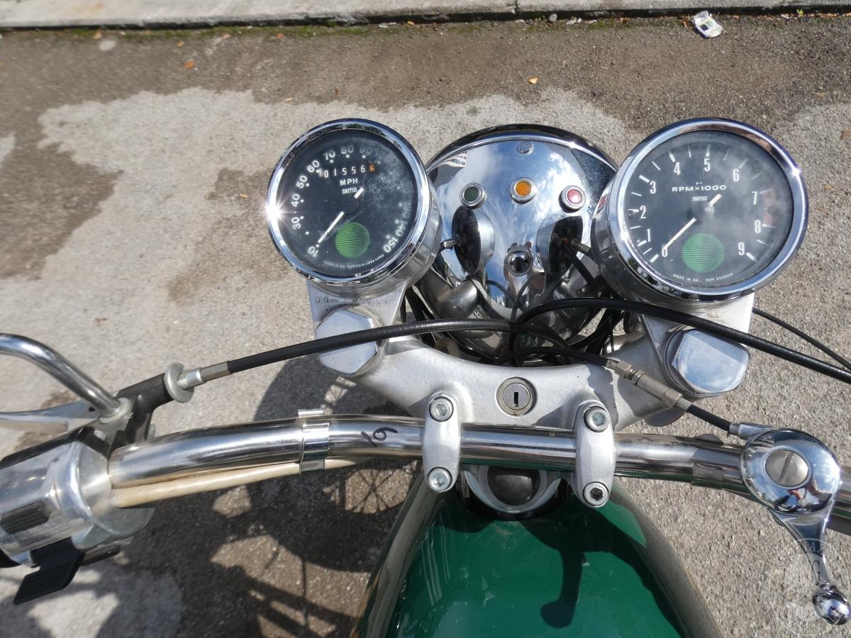 Motociclo Norton Commando 750 anno 1971   GARA DI VENDITA SABATO 7 DICEMBRE 2019 16