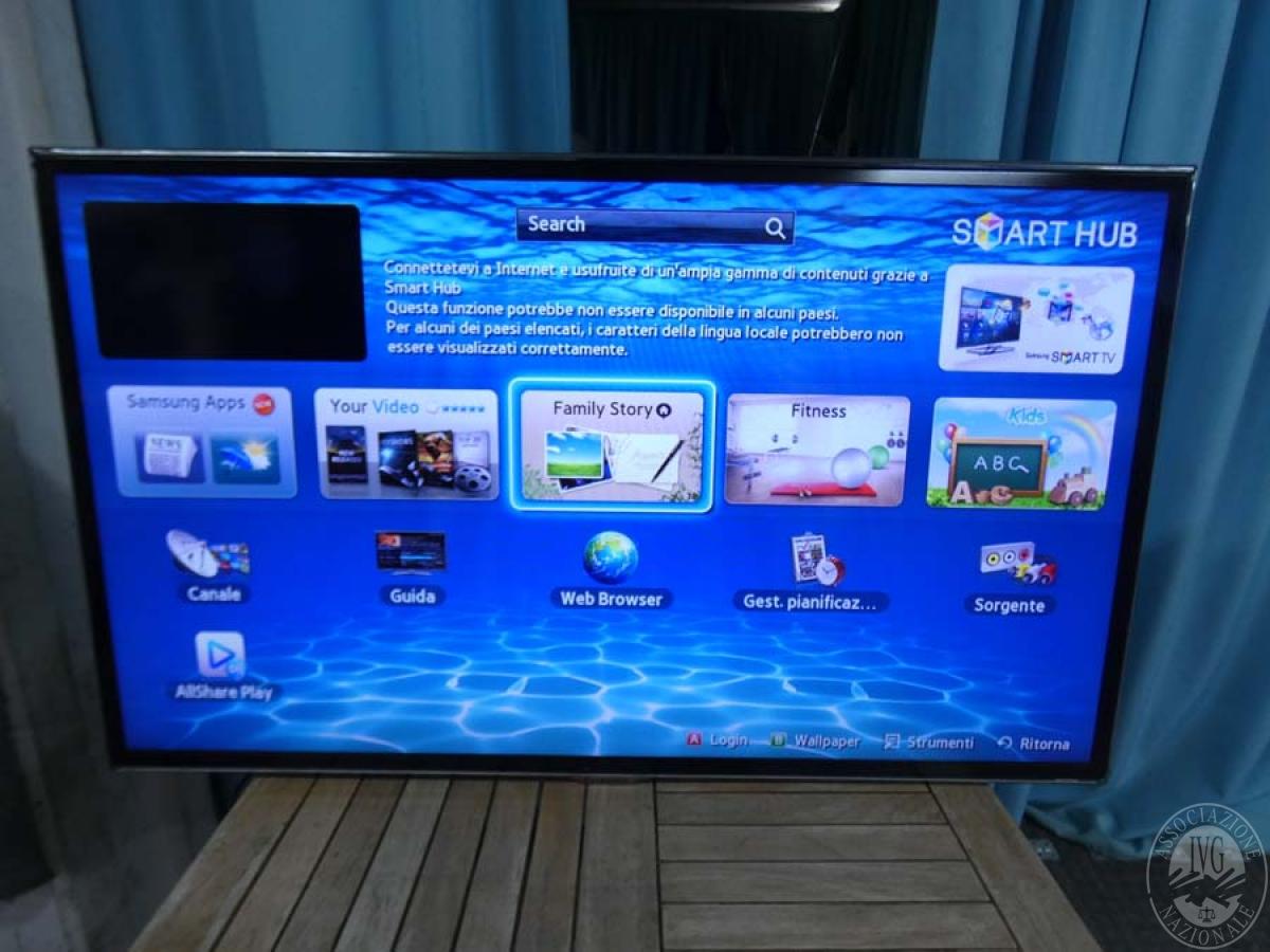 TV Samsung 46 pollici    GARA DI VENDITA SABATO 8 FEBBRAIO 2020