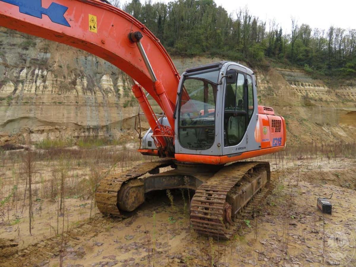 Escavatore Fiat Kobelco E215   GARA DI VENDITA SABATO 7 DICEMBRE 2019  VISIBILE IN SAN GIOVANNI VALDARNO (AR) 3