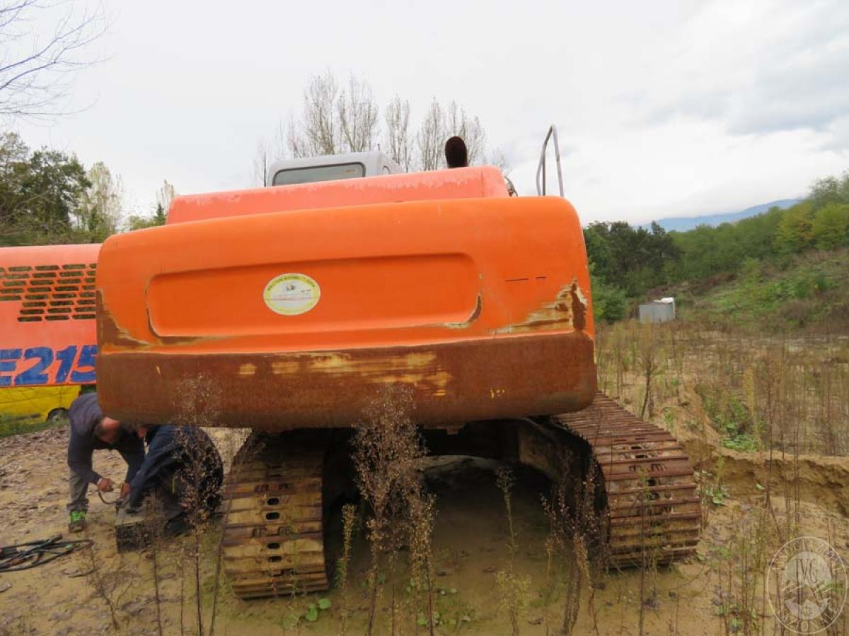 Escavatore Fiat Kobelco E215   GARA DI VENDITA SABATO 7 DICEMBRE 2019  VISIBILE IN SAN GIOVANNI VALDARNO (AR) 18