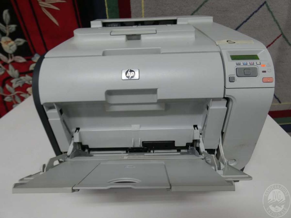 Rif. 5) Stampante  HP Color Laserjet CP2025   GARA DI VENDITA SABATO 7 DICEMBRE 2019
