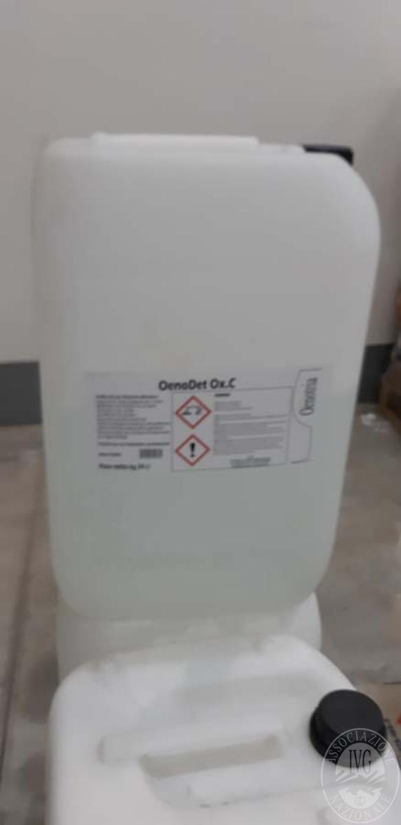 Prodotti chimici per enologiia + attrezzature ufficio   VENDITA 17 DICEMBRE 2019 CON GARA ONLINE RACCOLTA DI OFFERTE 5