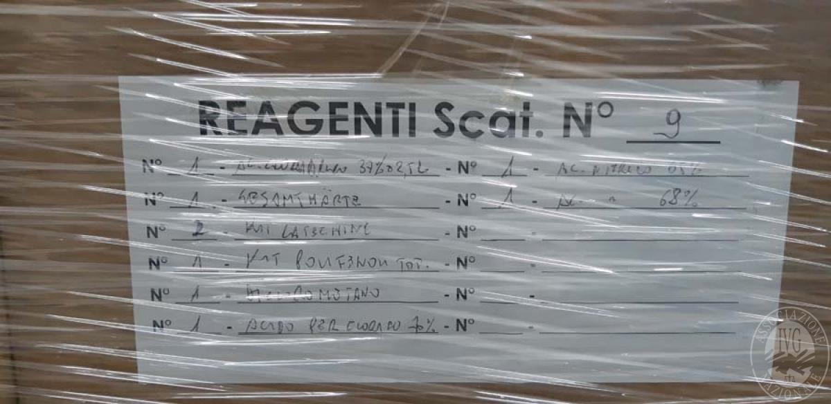Prodotti chimici per enologiia + attrezzature ufficio   VENDITA 17 DICEMBRE 2019 CON GARA ONLINE RACCOLTA DI OFFERTE 41