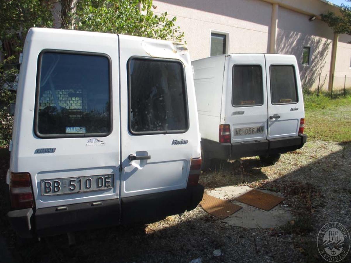 Autocarri + macchine operatrici    VENDITA 17 DICEMBRE 2019 CON GARA ONLINE RACCOLTA DI OFFERTE 8