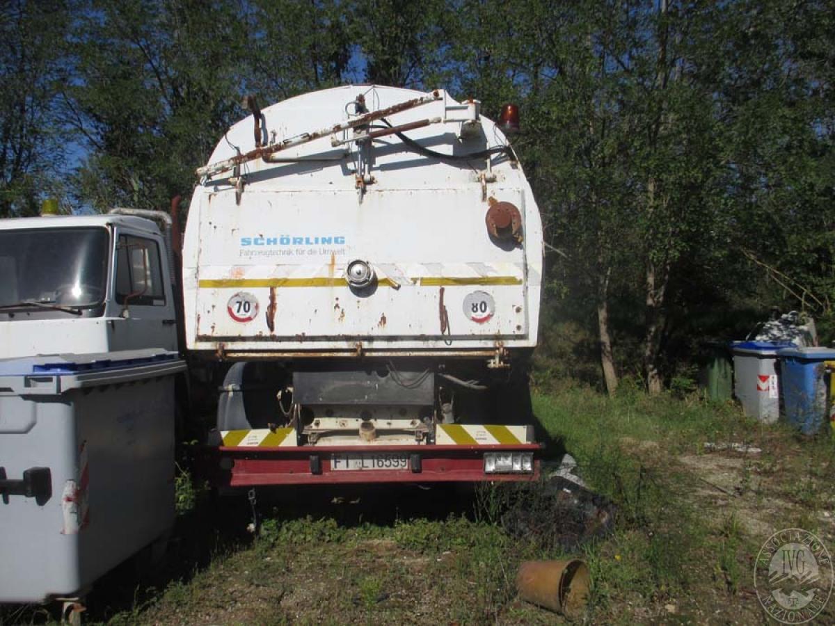 Autocarri + macchine operatrici    VENDITA 17 DICEMBRE 2019 CON GARA ONLINE RACCOLTA DI OFFERTE 12