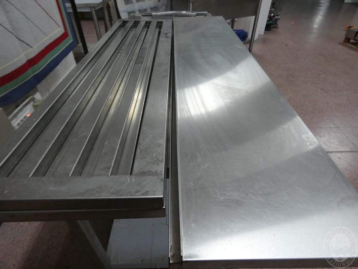 Rif. 109) N. 4 mensole in acciaio inox   GARA DI VENDITA SABATO 8 FEBBRAIO 2020 2