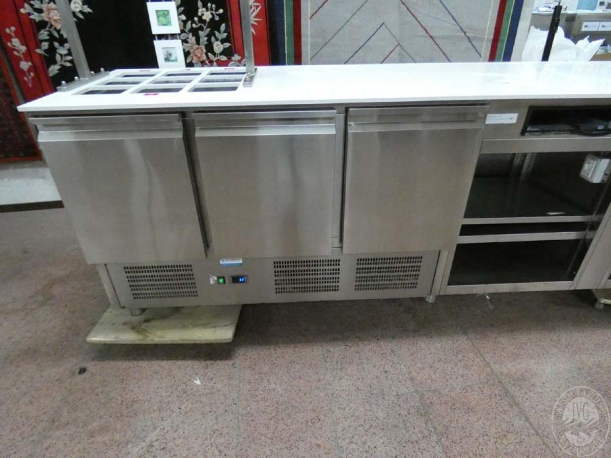 Rif. 110) Banco in acciaio inox   GARA DI VENDITA SABATO 8 FEBBRAIO 2020 0