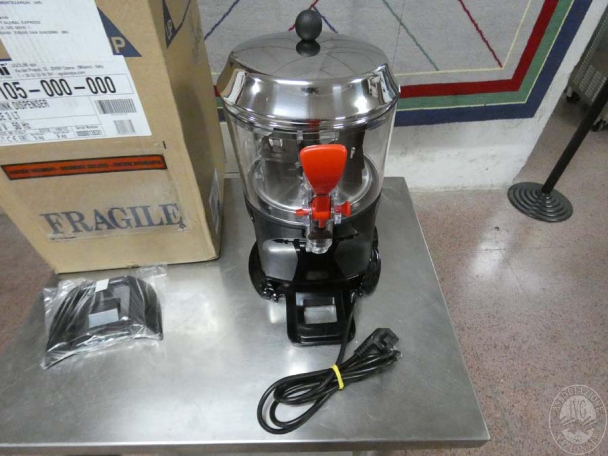 Rif. 147 + 149) Dispenser per bevande + frullatore + spremi agrumi + blender    GARA DI VENDITA SABATO 8 FEBBRAIO 2020