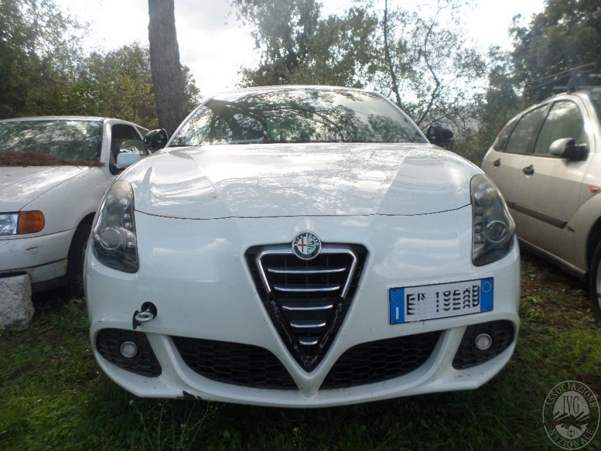 Alfa Romeo Giulietta   GARA DI VENDITA SABATO 8 FEBBRAIO 2020   VISIBILE PRESSO DEPOSITERIA IVG SIENA 2
