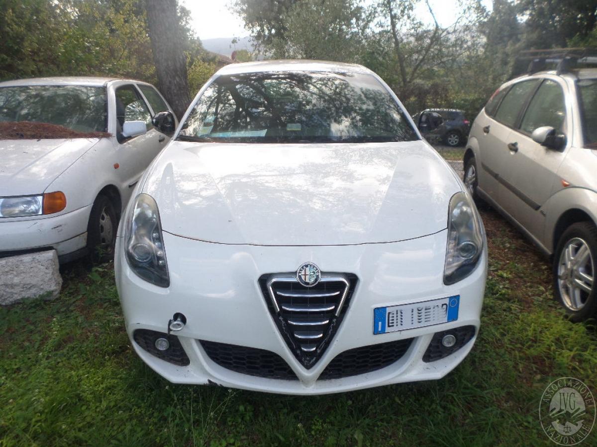 Alfa Romeo Giulietta   GARA DI VENDITA SABATO 8 FEBBRAIO 2020   VISIBILE PRESSO DEPOSITERIA IVG SIENA 4