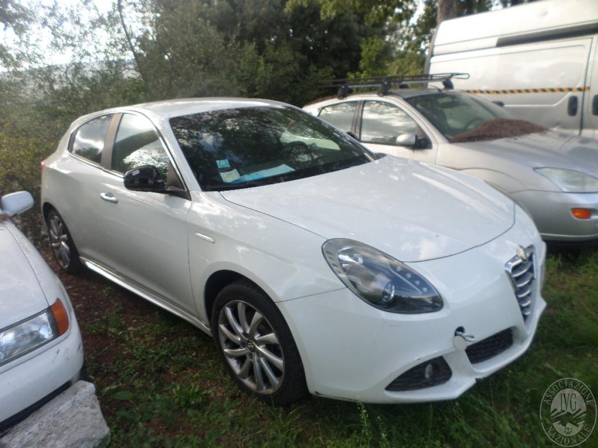Alfa Romeo Giulietta   GARA DI VENDITA SABATO 8 FEBBRAIO 2020   VISIBILE PRESSO DEPOSITERIA IVG SIENA 5
