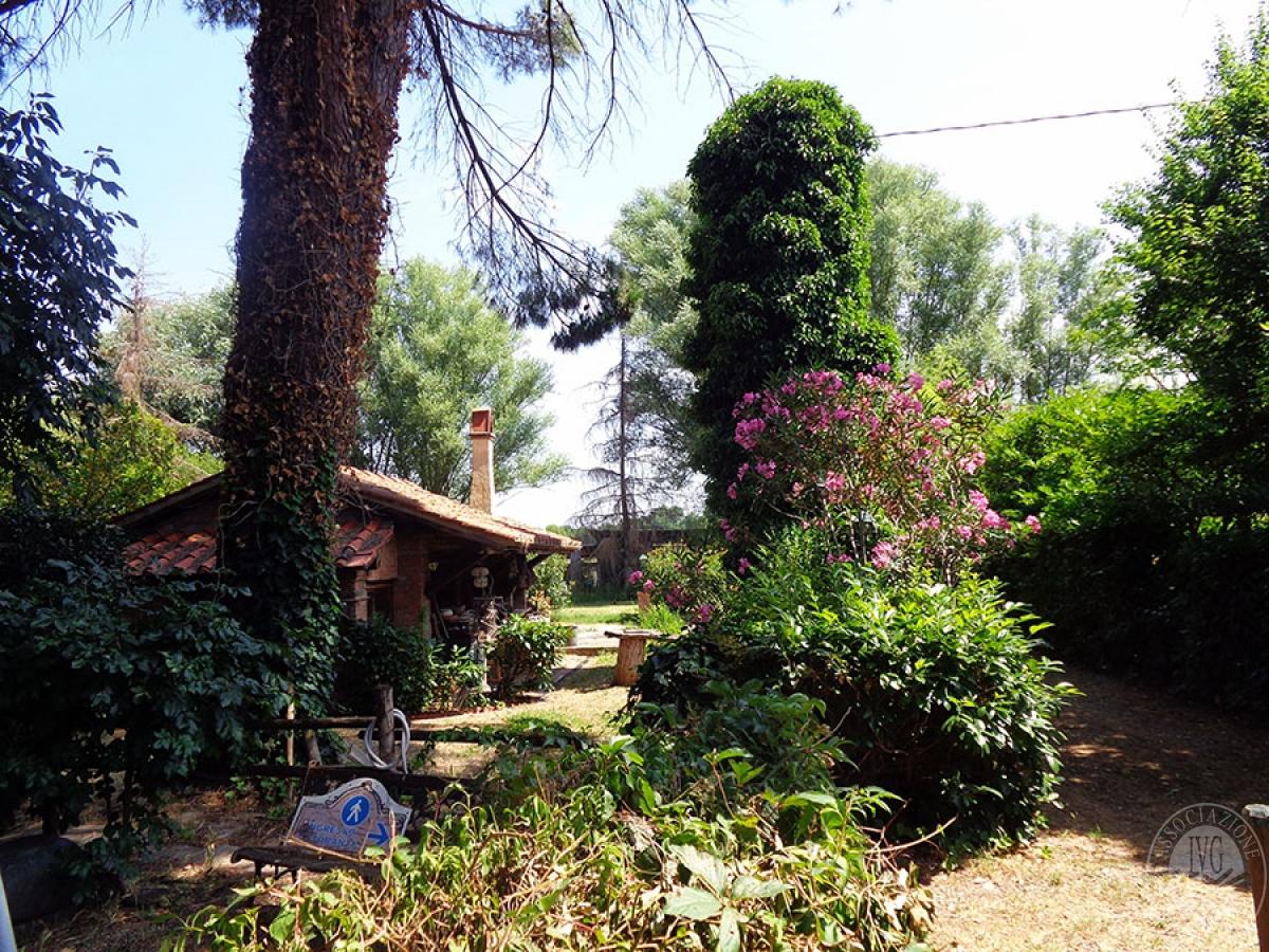 Appartamento, ristorante, terreni a MARCIANO DELLA CHIANA in Via dell'Esse 1