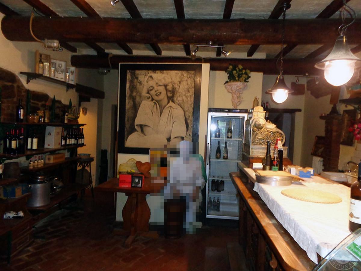 Appartamento, ristorante, terreni a MARCIANO DELLA CHIANA in Via dell'Esse 21