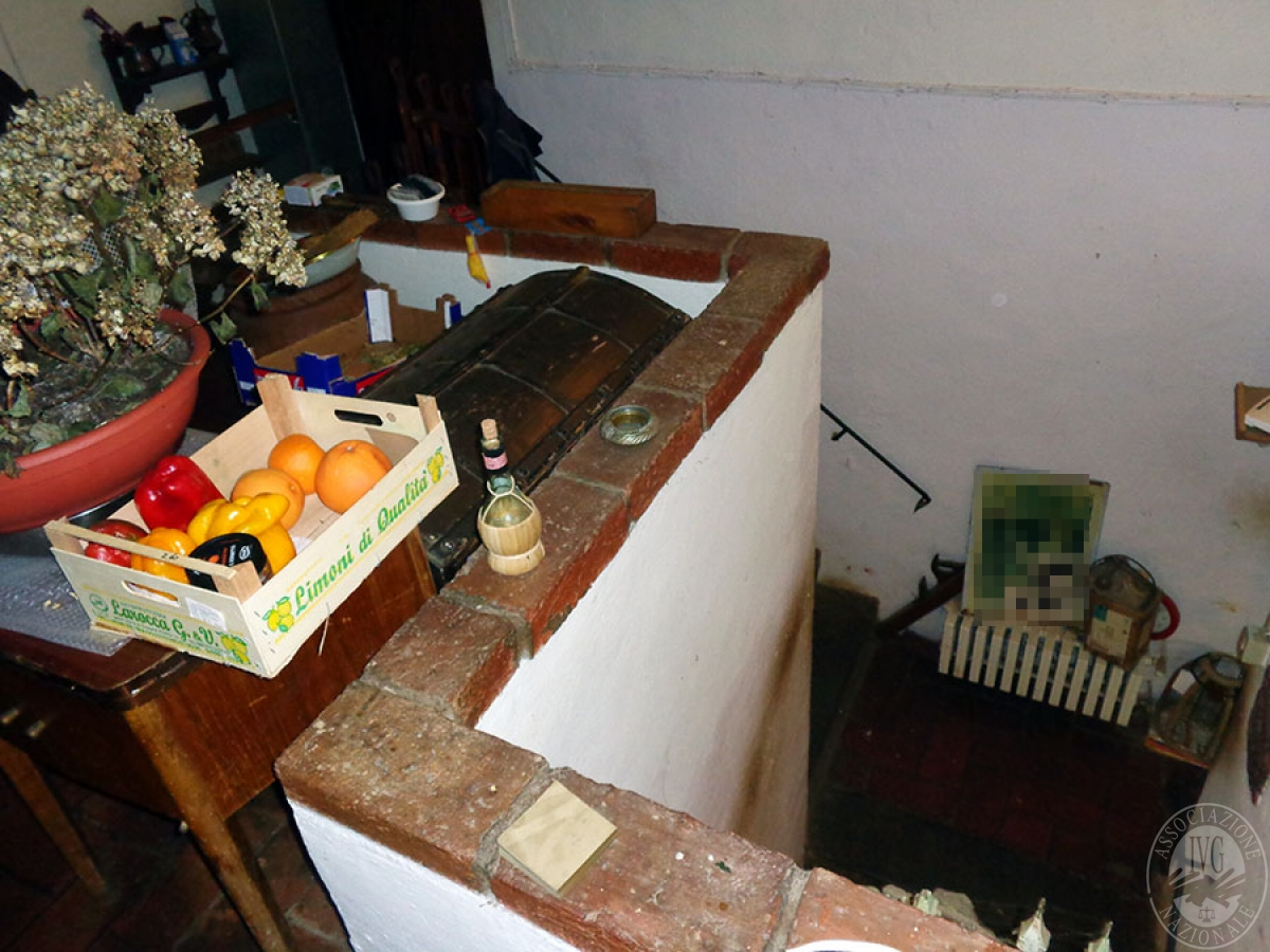 Appartamento, ristorante, terreni a MARCIANO DELLA CHIANA in Via dell'Esse 44