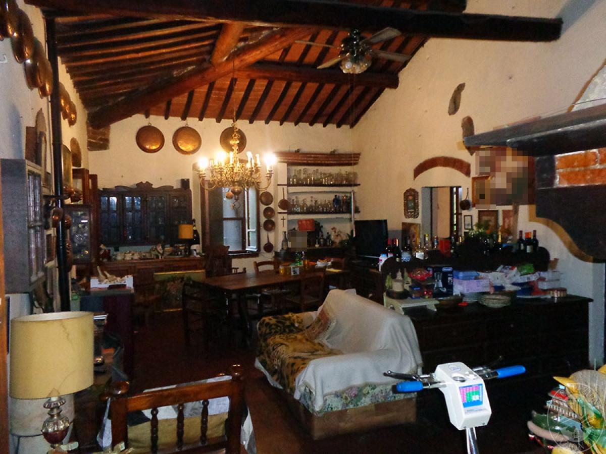 Appartamento, ristorante, terreni a MARCIANO DELLA CHIANA in Via dell'Esse 47