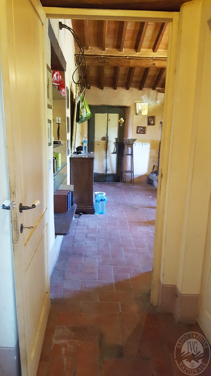 Colonica con terreni a CIVITELLA IN VAL DI CHIANA in loc. Querceto - Lotto 1A 11