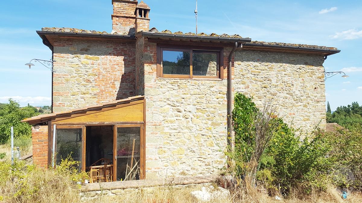 Colonica con terreni a CIVITELLA IN VAL DI CHIANA in loc. Querceto - Lotto 1A 14