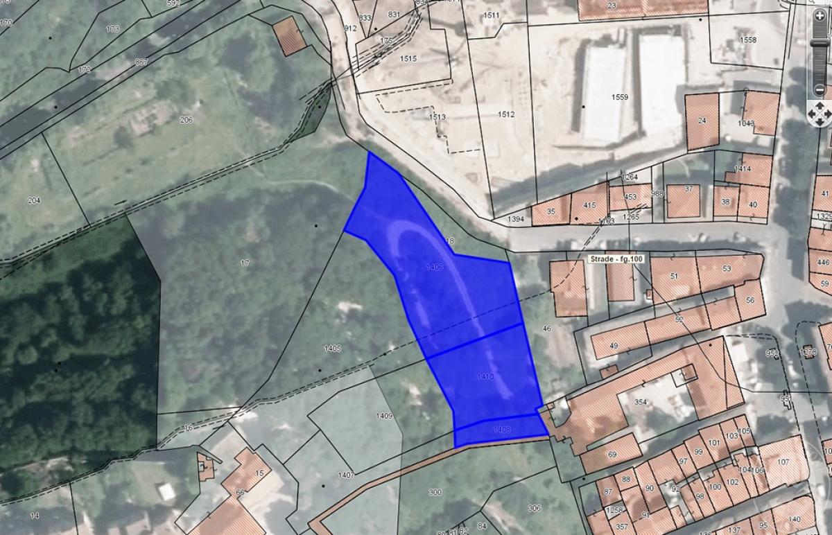 Terreni edificabili a COLLE VAL D'ELSA, via Livini - Lotto CENTRO DEL CRISTALLO