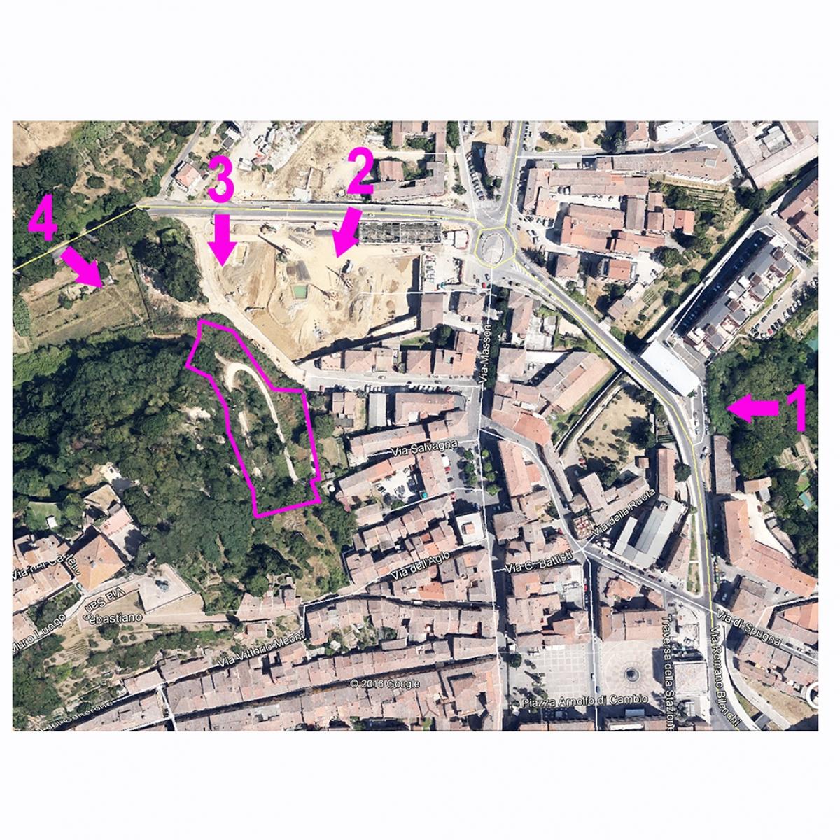 Terreni edificabili a COLLE VAL D'ELSA, via Livini - Lotto CENTRO DEL CRISTALLO 0