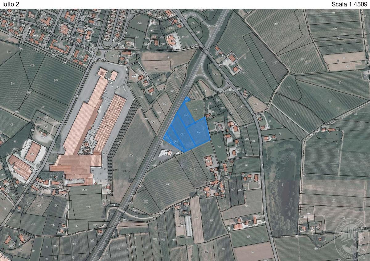 Terreni a CIVITELLA IN VAL DI CHIANA - LOTTO 2