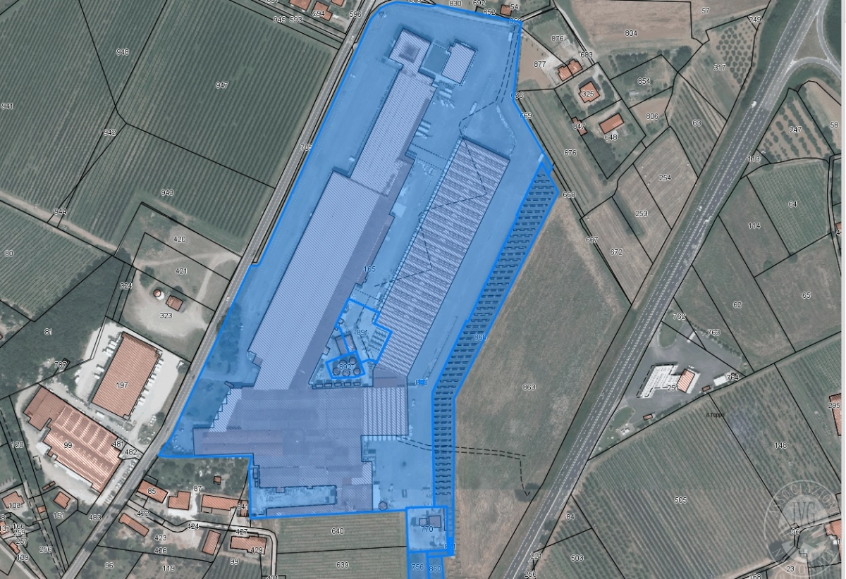COMPLESSO INDUSTRIALE CIVITELLA IN VAL DI CHIANA, via aretina nord - LOTTO 3 0