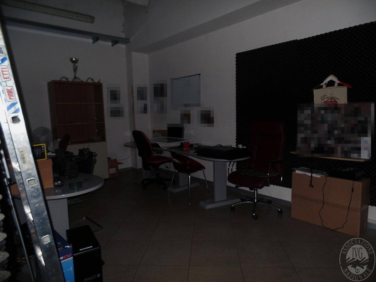 Laboratorio a  MONTEVARCHI in Via G. Leopardi, in gara esclusivamente l'immobile 9