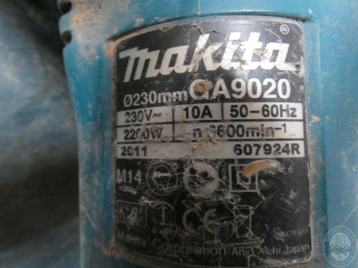 Rif. 65) Mola marca Makita   GARA ONLINE 25 SETTEMBRE 2020 3