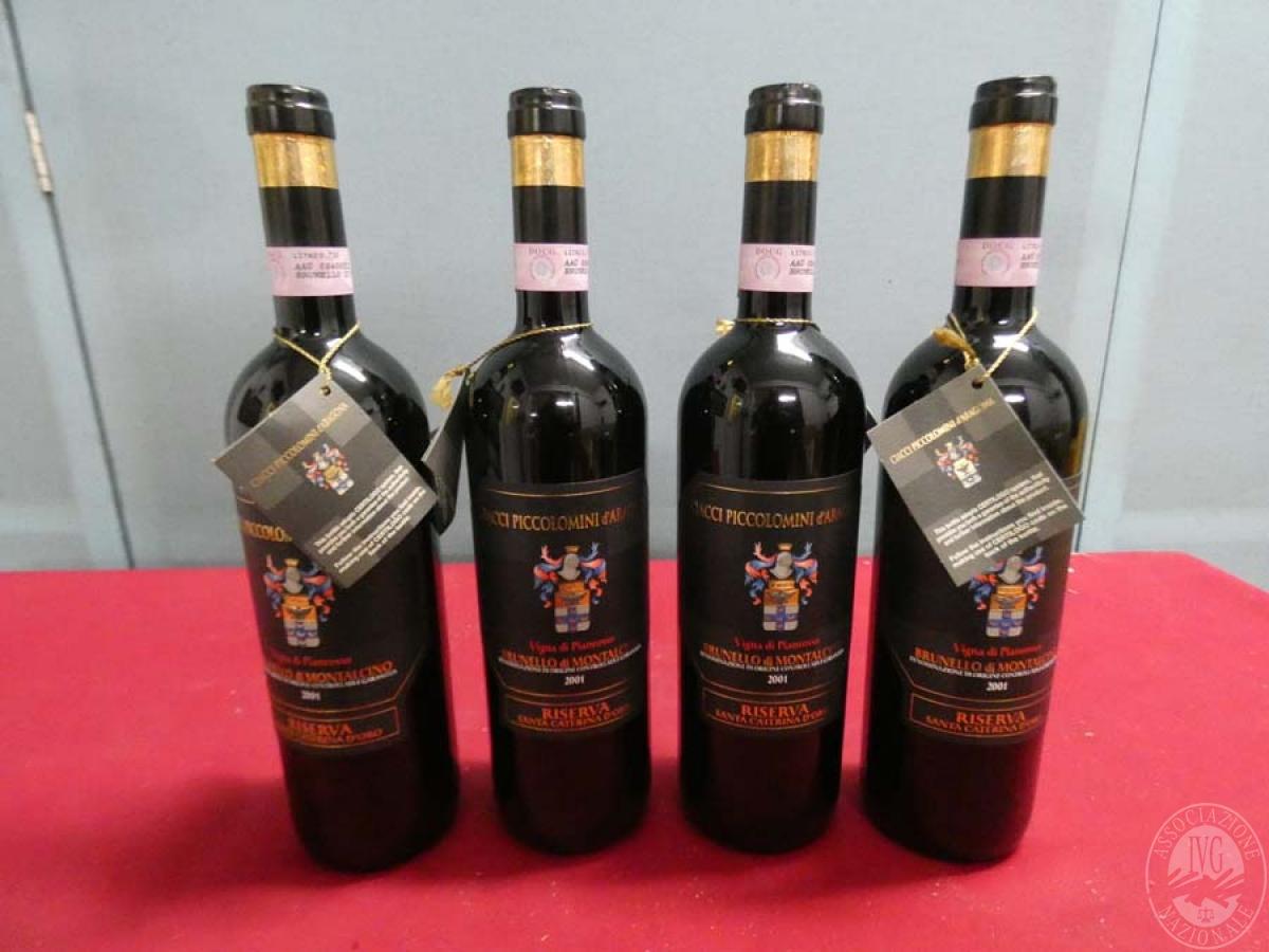 Rif. 10) N. 4 bottiglie di Brunello di Montalcino  VENDITA ONLINE