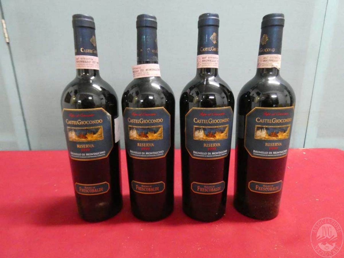 Rif. 11) N. 4 bottiglie di Brunello di Montalcino  VENDITA ONLINE