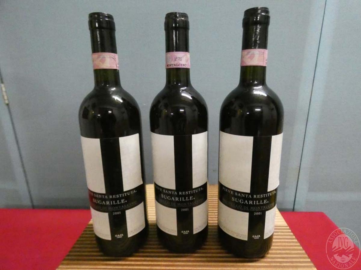 Rif. 7) N. 10 bottiglie di Brunello di Montalcino  GARA ONLINE 19 DICEMBRE 2020