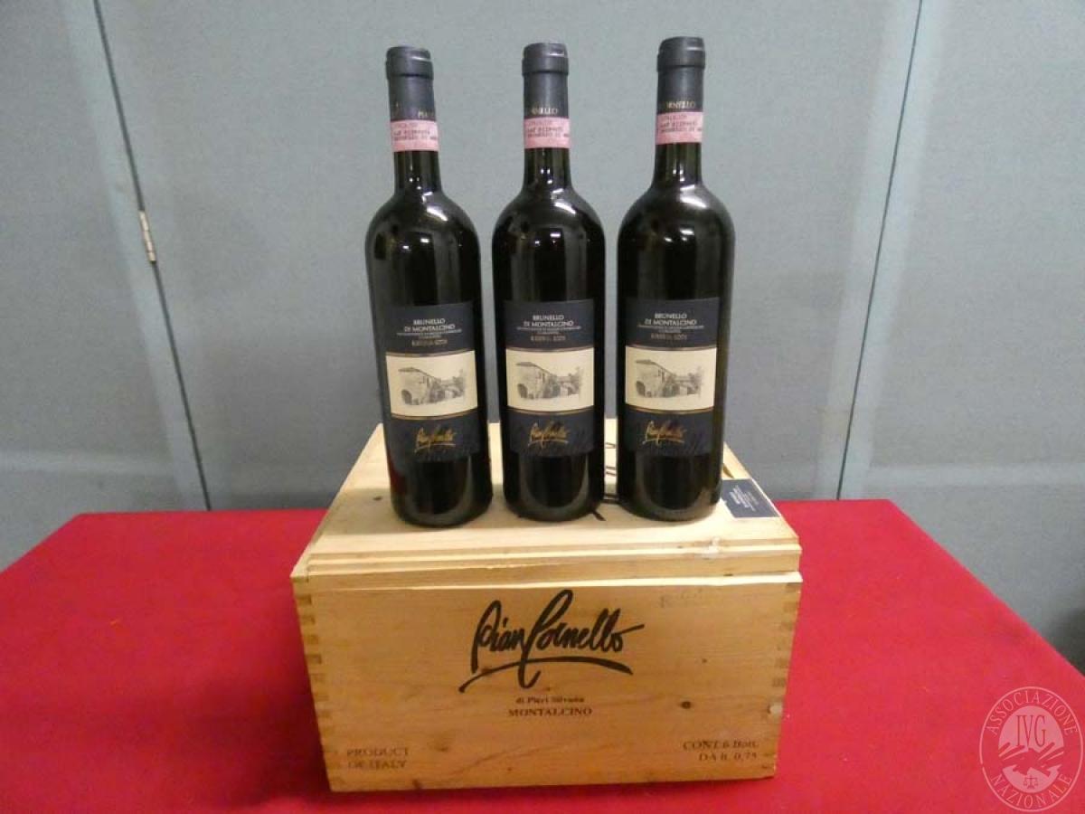 Rif. 14) N. 12 bottiglie di Brunello di Montalcino  VENDITA ONLINE