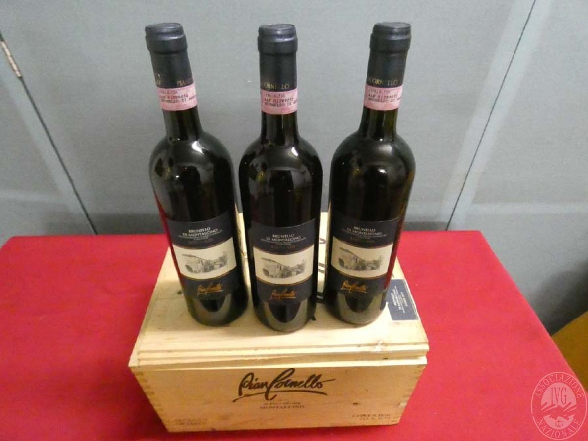 Rif. 14) N. 12 bottiglie di Brunello di Montalcino  VENDITA ONLINE 4