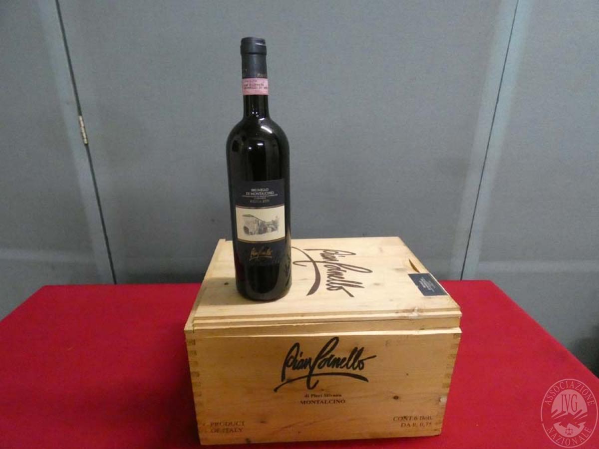 Rif. 14) N. 12 bottiglie di Brunello di Montalcino  VENDITA ONLINE 5
