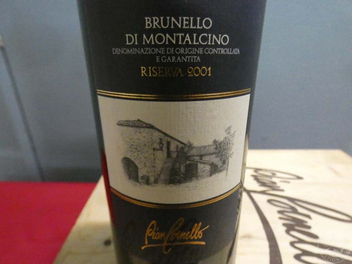 Rif. 14) N. 12 bottiglie di Brunello di Montalcino  VENDITA ONLINE 7