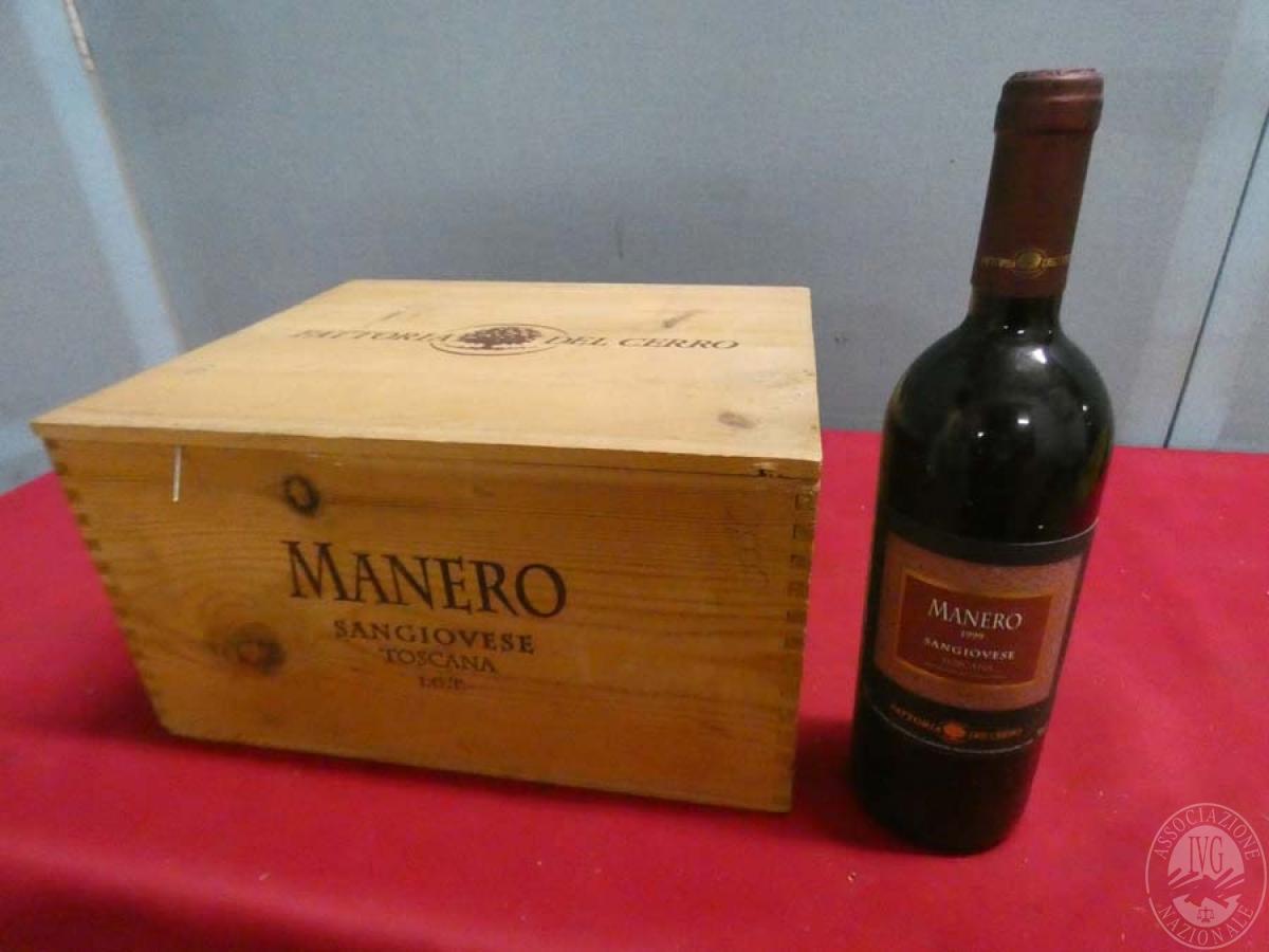 Rif. 20) N. 6 bottiglie di Sangiovese Manero  VENDITA ONLINE