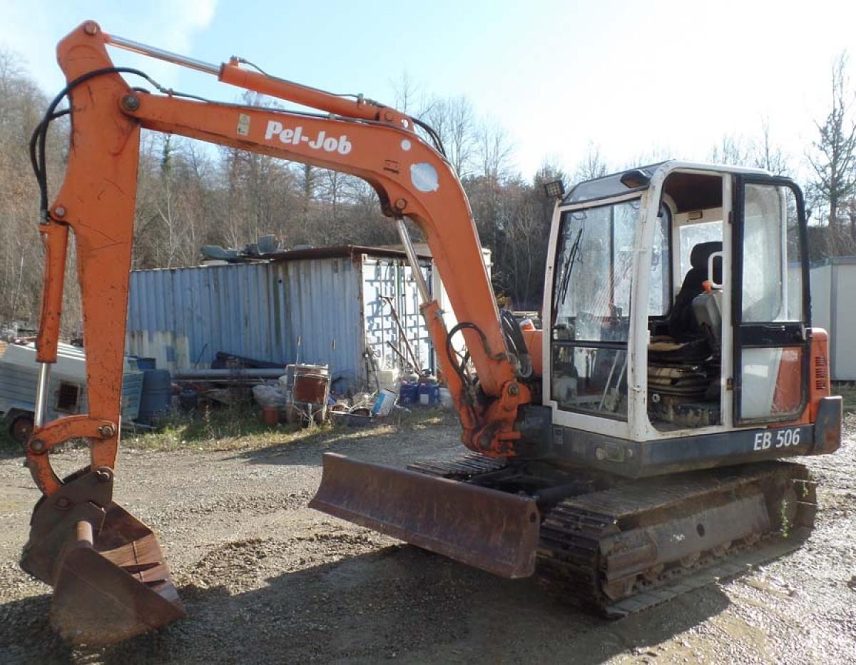 Rif. 30) Escavatore PEL-JOB    GARA ONLINE 25 SETTEMBRE 2020