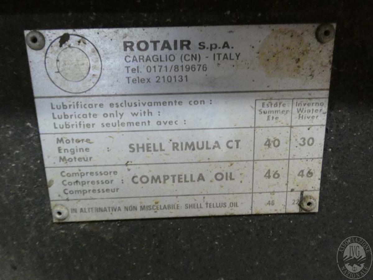 Rif. 15) Compressore ROTAIR  GARA ONLINE 25 SETTEMBRE 2020 2