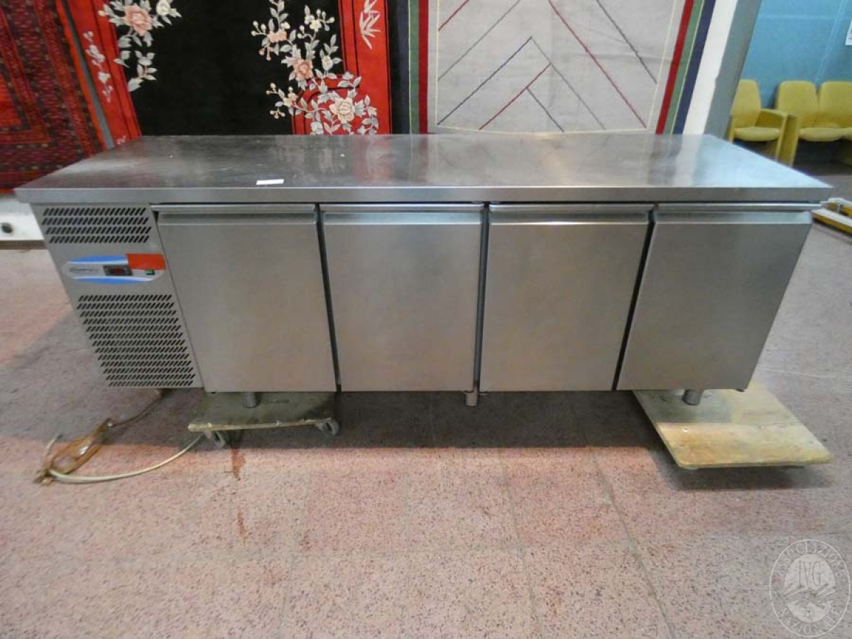 Rif. 13) Banco frigo a 4 sportelli   VENDITA ONLINE 23 LUGLIO 2020