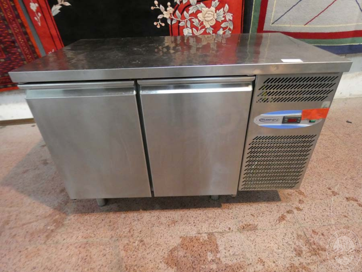 Rif. 16) Banco frigo a 2 ante   VENDITA ONLINE 22 LUGLIO 2020