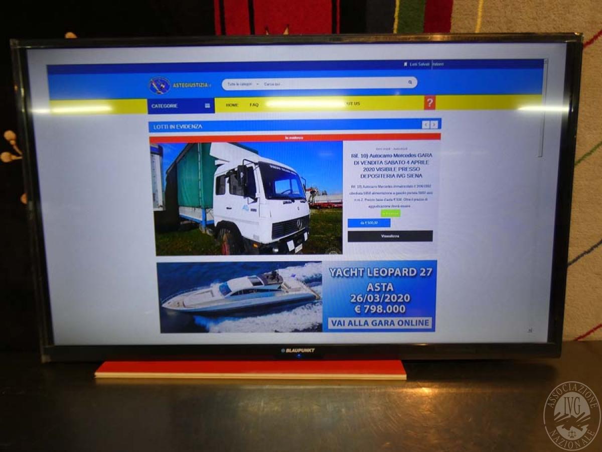 Rif. 44C) Televisore marca Blaupunkt   VENDITA ONLINE 8 SETTEMBRE 2020