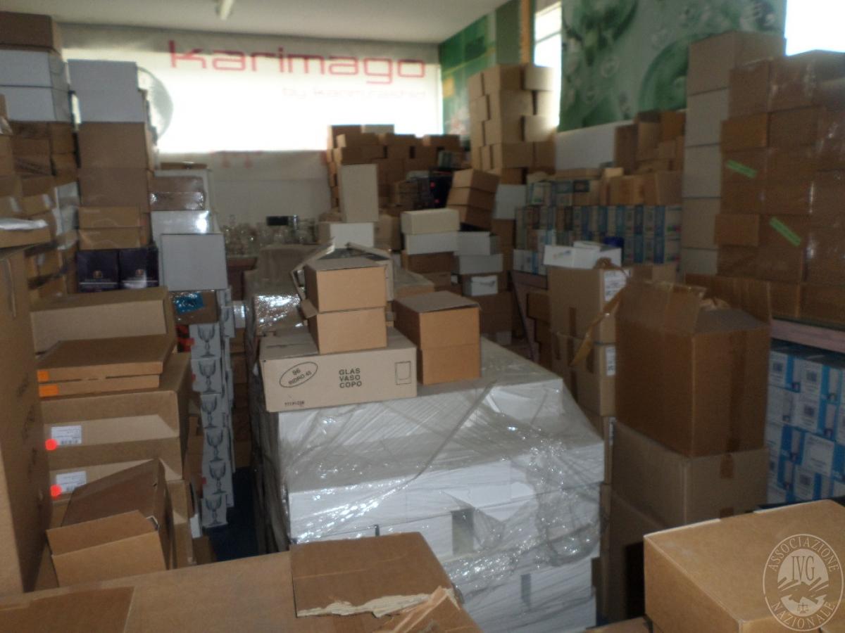 """LOTTO 4) circa 24.640 prodotti finiti e semilavorati    VENDITA CON GARA ONLINE """"RACCOLTA DI OFFERTE"""" 24 NOVEMBRE 2020"""