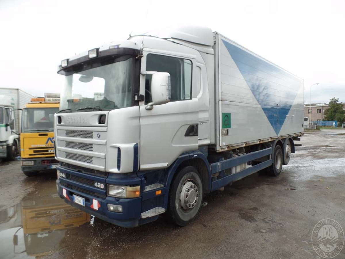 Rif. 24) Scania 420 124L   GARA ONLINE 25 GIUGNO 2021