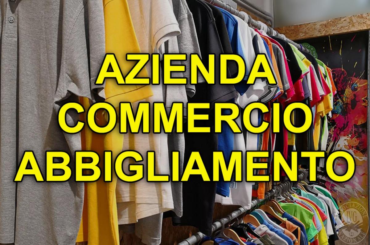 Azienda operante nel settore del commercio al minuto di abbigliamento